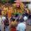 முத்தாலங்குறிச்சியில்   சித்திரை விசு திருவிழா அம்மன் தாமிரபரணி ஆற்றில் நீராடல்